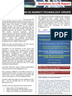 GSA Evolution to LTE Report 011112