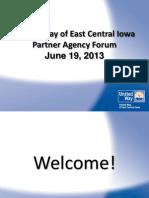 Partner Agency Forum Powerpoint