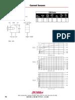 Current Sensors Datasheet
