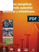 Indicadores Energeticos Desarrollo Sostenible