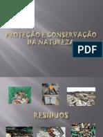 Proteção e conservação da Natureza
