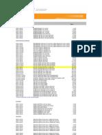 Lista Precios 2011 ADC Krone- Distribucion 011011