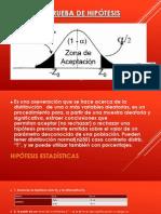 PRUEBA DE HIPÓTESIS