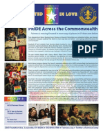 Fairness Campaign Pride 2013 Newsletter
