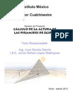 PROYECTO DE MATEMATICAS III - Pirámides may 2013