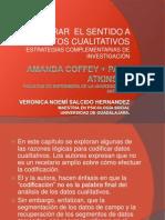 PRESENTACIÓN ENCONTRAR EL SENTIDO A LOS DATOS CUALITATIVOS