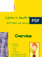 South Korea _ Lipton