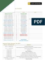 Academic Calendar 2
