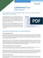 ABR11.5SQL Datasheet Es-ES
