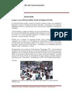 27-06-2013 Boletín 037 Asegura colonia Ernesto Zedillo, triunfo de Rogelio Ortiz Mar