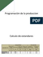 Programación de la produccion