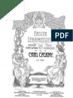 Czerny - Op. 599 - The First Piano Teacher 100 Studies (2)