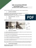 Bulletin Service Manilles 2013.02 (FR)