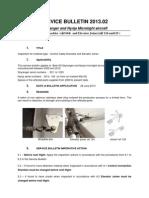 Service Bulletin 2013-02 (GB)