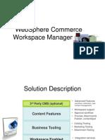 WebSphere Commerce Workspace