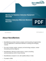 Radiation Detection Materials and Device Markets