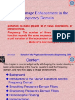 4-Image Enhancement in the Frequency Domain