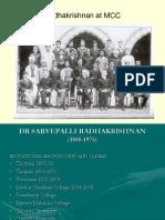 Dr. S. Radhakrishnan