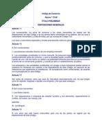 Codigo de Comercio PDF