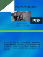 PRESENTACIÓN LEY DE VIOLENCIA ESCOLAR FINAL