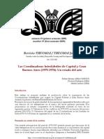 Las Coordinadoras Interfabriles de Capital y Gran Buenos Aires, Un Estado Del Arte