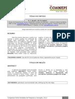 Modelo Artigo CONNEPI 2013 Versao Final