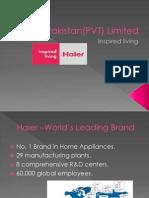 Haier Pakistan(PVT) Limited