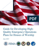 Guide for Developing High - Quality Emergency Operations Plans for Houses of Worship