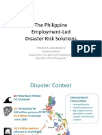 Employment Led Disaster Recovery1