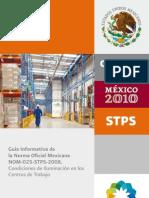 Guía NOM-025-STPS-2008