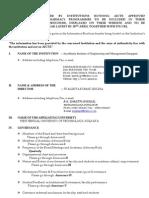 Mandatory Disclosure 2006- 2007 AIEMD