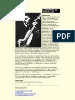 Cancionero de Victor Jara