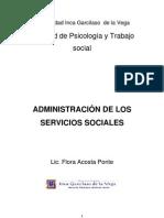 Administración de los Servicios Sociales