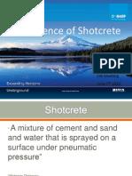 Shotcrete BASF Presentation