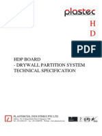 HDP Board Partition Specification