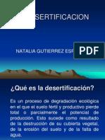 La Desertificacion