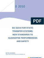 IEC 62310 for Static Transfer Systems