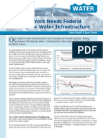 Why New York Needs Federal Funding for Water Infrastructure