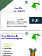 DrugsAffectingtheGastrointestinalSystem