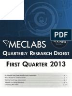 Quarterly Marketing Research Digest 2013 | MECLABS