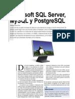 Microsoft SQL Server MySQL y PostgreSQL_Santiago Gomez Ruiz_Linux Plus Magazine