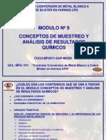 Conceptos de Muestreo y Análisis de Resultados Químicos