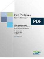 Plan Affaires