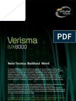 Nota Tecnica- Backhaul Movil