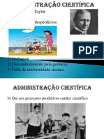 Administração Científica - Aula
