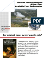 Planta Geotermica