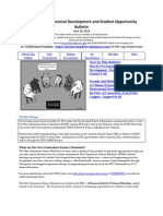 RI Science Professional Development and Student Opportunity Bulletin 6-28-13