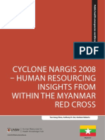 Cyclone Nargis 2008- Human Resourcing Insights From Within Myanmar Redcross
