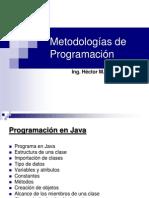 5 Programacion en Java- Estructura Paquetes Tipo Datos Atributos Variables Constantes Metodos Objetos Alcance Entrada y Salida (3)