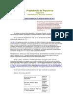 EMENDA CONSTITUCIONAL Nº 70, DE 29 DE MARÇO DE 2012